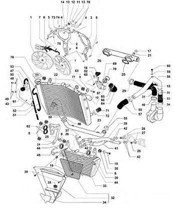 Honda Genuine Spare Parts Part Diagrams
