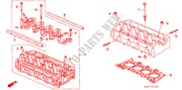 CYLINDER HEAD (SOHC) ENGINE CIVIC COUPE honda-cars 2000 1.6ILS E__1000