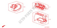 GASKET KIT ENGINE CIVIC COUPE honda-cars 2000 1.6ILS E__2000