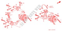P.S. PUMP BRACKET ENGINE CIVIC COUPE honda-cars 2000 1.6ILS E__1910