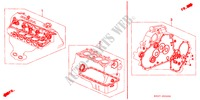 GASKET KIT ENGINE CIVIC honda-cars 1997 1.4I E__2000