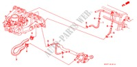 WATER HOSE (SOHC) ENGINE CIVIC honda-cars 1997 1.4I E__1510