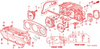 COMBINATION METER COMPONENTS ELECTRICAL EQUIPMENTS, EXHAUST, HEATER CR-V honda-cars 1998 RVI B__1210