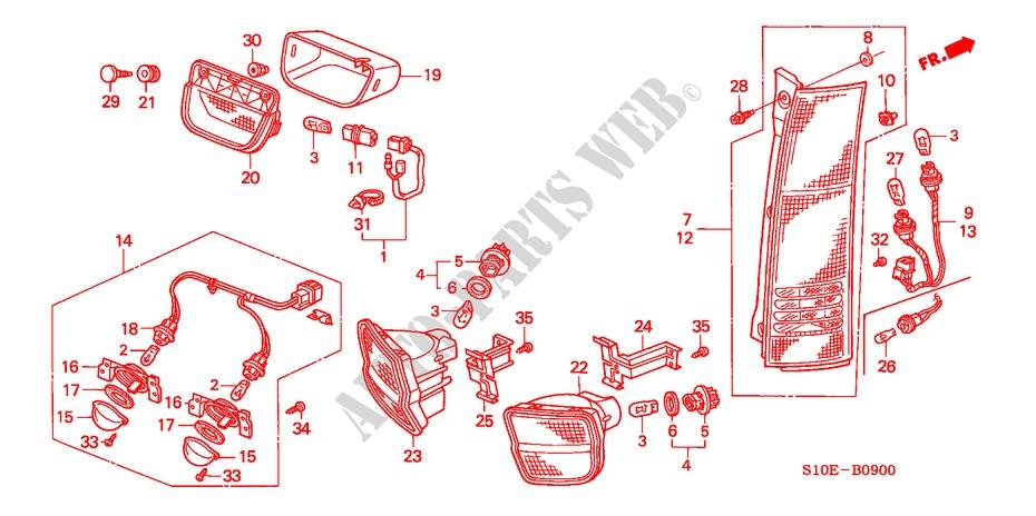 amusing 2001 honda crv stereo wiring diagram photos