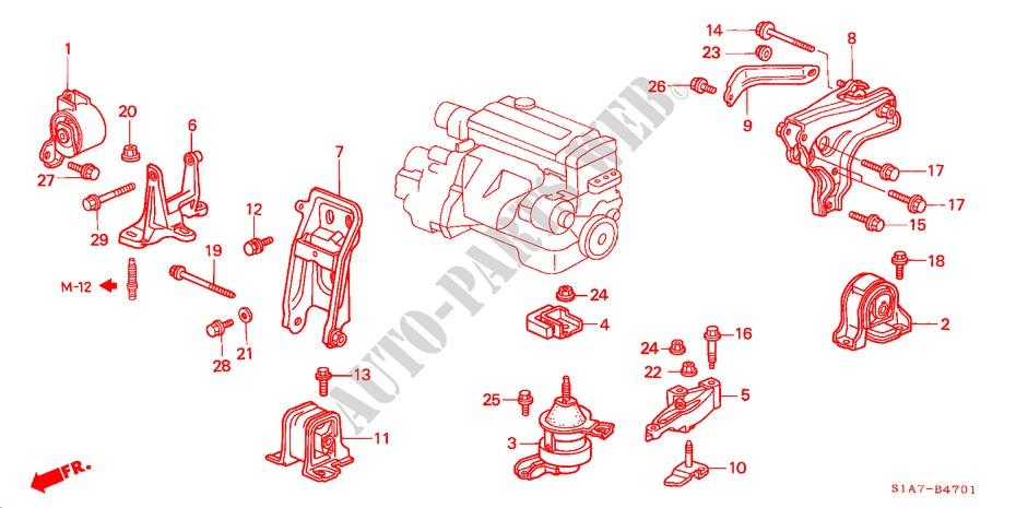 ENGINE-MOUNTS-MT--18L-20L-22L-Honda-Cars
