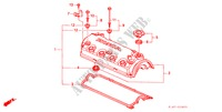 CYLINDER HEAD COVER (1.6L) for Honda Cars ACCORD 1.6ILS 4 Doors 5 speed manual 2001