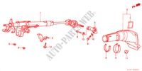STEERING COLUMN for Honda Cars ACCORD 1.6ILS 4 Doors 5 speed manual 2000