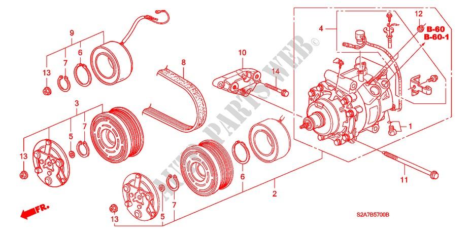 Ac Compressor Parts Diagram