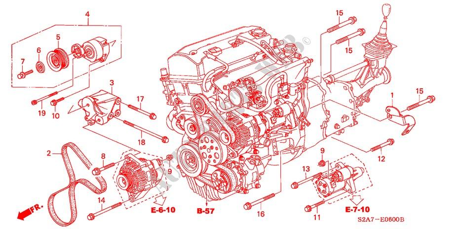 wiring harnes honda s2000 S2000 Engine Diagram