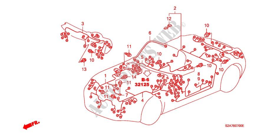 Wiring Harnes Honda S2000