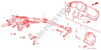 STEERING COLUMN for Honda Cars HR-V 4WD 3 Doors 5 speed manual 1999