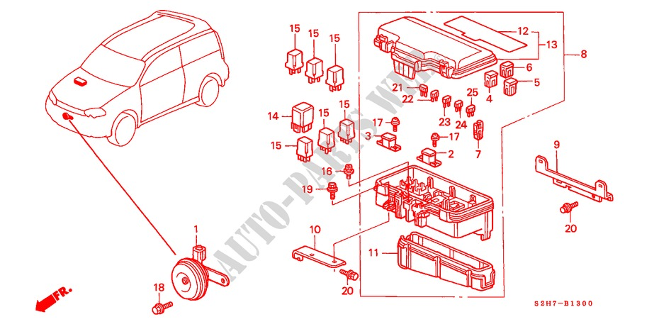 CONTROL UNIT (ENGINE ROOM) for Honda Cars HR-V 4WD 3 Doors 5 ... on toyota 3.5 engine diagram, gm 3.5 engine diagram, tecumseh 3.5 engine diagram, chevy 3.5 engine diagram, dodge 3.5 engine diagram, kia 3.5 engine diagram, nissan 3.5 engine diagram, oldsmobile 3.5 engine diagram, isuzu 3.5 engine diagram, hummer 3.5 engine diagram,