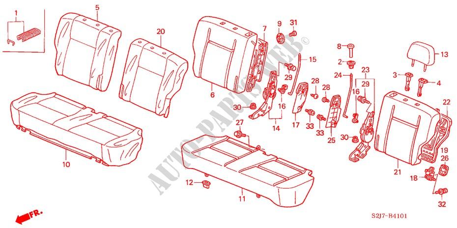 TOYOTA Genuine 71071-AC150-E1 Seat Cushion Cover