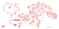 EXHAUST MANIFOLD (2.0L) ENGINE ACCORD honda-cars 2000 2.0IES E__0402
