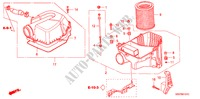 AIR CLEANER (TYPE R) ELECTRICAL EQUIPMENTS, EXHAUST, HEATER CIVIC honda-cars 2004 TYPE R B__0101