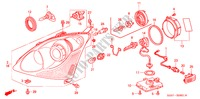 HEADLIGHT ('04) (1) ELECTRICAL EQUIPMENTS, EXHAUST, HEATER CIVIC honda-cars 2004 TYPE R B__0801