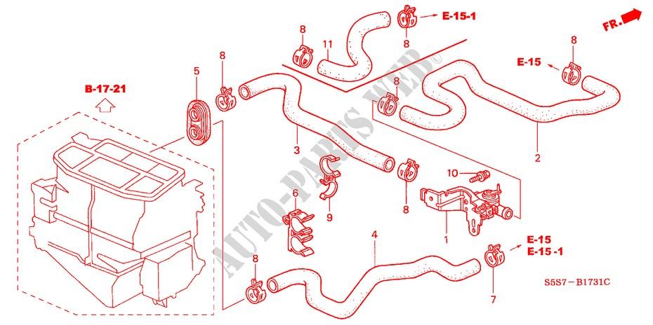 Water Valve  Rh  For Honda Cars Civic Type R 3 Doors 6 Speed Manual 2002   Honda Cars
