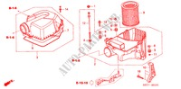 AIR CLEANER (TYPE R) ELECTRICAL EQUIPMENTS, EXHAUST, HEATER CIVIC honda-cars 2005 TYPE R     PREMIUM B__0101