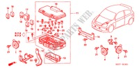 CONTROL UNIT(ENGINE ROOM) (TYPE R) ELECTRICAL EQUIPMENTS, EXHAUST, HEATER CIVIC honda-cars 2005 TYPE R     PREMIUM B__1301