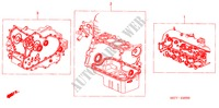 GASKET KIT (1.4L/1.6L) for Honda Cars CIVIC 1.6 SPORT 3 Doors 5 speed manual 2005