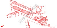 P.S. GEAR BOX COMPONENTS (EPS) (LH) for Honda Cars CIVIC 1.6 SPORT 3 Doors 5 speed manual 2005