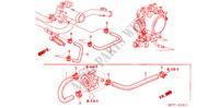 WATER HOSE (TYPE R) ENGINE CIVIC honda-cars 2005 TYPE R     PREMIUM E__1511