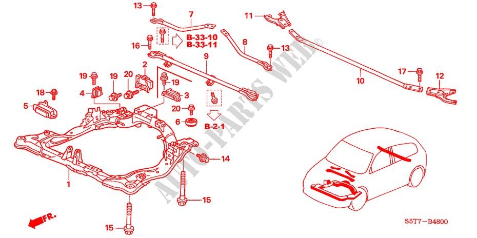 Honda Civic 2005 Parts Manual