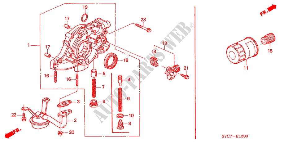 d17a engine diagram