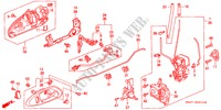 DOOR LOCKS BODY PARTS ACCORD COUPE honda-cars 2002 3.0IV6 B__5310