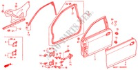 DOOR PANELS BODY PARTS ACCORD COUPE honda-cars 2002 3.0IV6 B__5320
