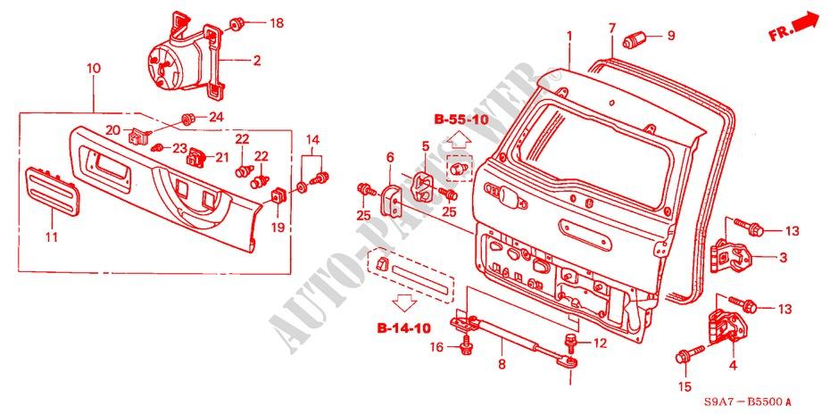Honda Crv Body Parts Diagram