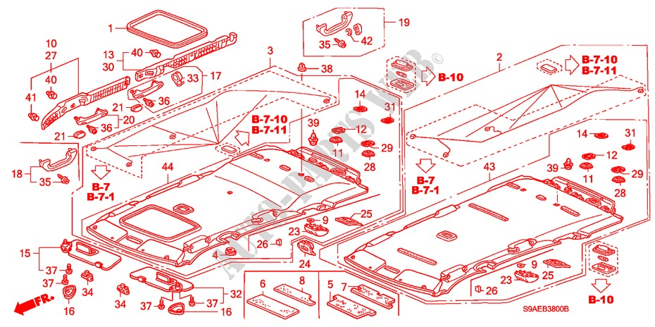 Zirgo 313932 Heat and Sound Deadener for 37-38 Mopar ~ Trunk Compartment Kit