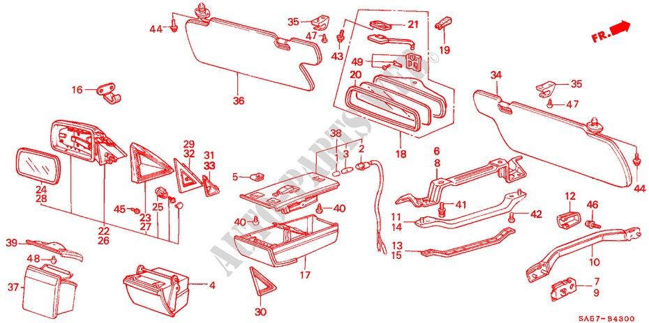 invimalla.com.ec Body Body & Trim Genuine Honda 88171-SA5-671 Door ...
