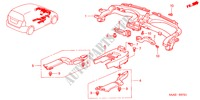 DUCT (RH) for Honda Cars JAZZ 1.2 E 5 Doors 5 speed manual 2005