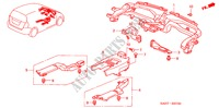 DUCT (LH) for Honda Cars JAZZ 1.2 S-S 5 Doors 5 speed manual 2007