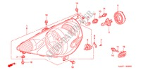 HEADLIGHT (1) ELECTRICAL EQUIPMENTS, EXHAUST, HEATER JAZZ honda-cars 2007 1.2 C-S B__0800