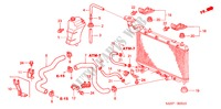 RADIATOR HOSE/RESERVE TAN K ELECTRICAL EQUIPMENTS, EXHAUST, HEATER JAZZ honda-cars 2007 1.2 C-S B__0510