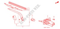 REAR WIPER ELECTRICAL EQUIPMENTS, EXHAUST, HEATER JAZZ honda-cars 2007 1.2 C-S B__1410