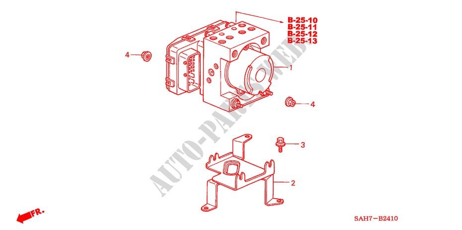 Abs Modulator For Honda Cars Jazz 1 4 Se 5 Doors 5 Speed
