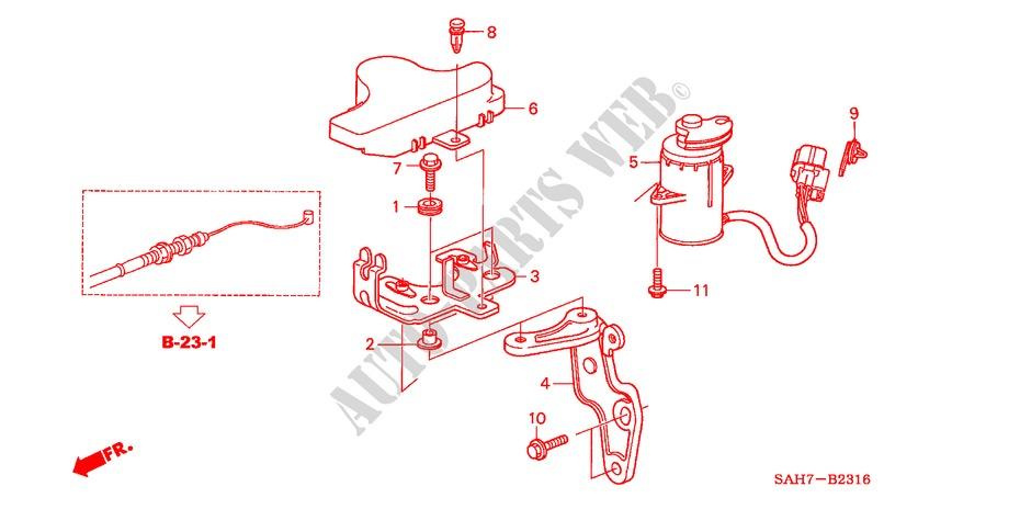 Accelerator Sensor  Rh  For Honda Cars Jazz 1 4 Se 5 Doors