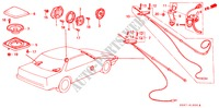 ANTENNA/SPEAKER ELECTRICAL EQUIPMENTS, EXHAUST, HEATER ACCORD honda-cars 1989 EX-2.0I B__1600