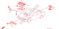 INTERIOR LIGHT ELECTRICAL EQUIPMENTS, EXHAUST, HEATER ACCORD honda-cars 1989 EX-2.0I B__1000