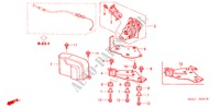 ACCELERATOR SENSOR (RH) for Honda Cars ACCORD 2.2 EXECUTIVE 4 Doors 5 speed manual 2005