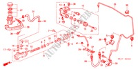 CLUTCH MASTER CYLINDER (DIESEL) (RH) for Honda Cars ACCORD 2.2 EXECUTIVE 4 Doors 5 speed manual 2005