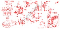 CONTROL UNIT (CABIN) (DIESEL) (RH) for Honda Cars ACCORD 2.2 EXECUTIVE 4 Doors 5 speed manual 2005