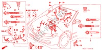 ENGINE WIRE HARNESS (RH) (DIESEL) for Honda Cars ACCORD 2.2 EXECUTIVE 4 Doors 5 speed manual 2005