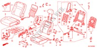 FRONT SEAT (R.)(RH)(2) for Honda Cars ACCORD 2.2 EXECUTIVE 4 Doors 5 speed manual 2005