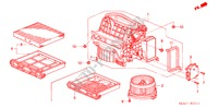 HEATER BLOWER (RH) for Honda Cars ACCORD 2.2 EXECUTIVE 4 Doors 5 speed manual 2005