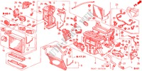 HEATER UNIT (RH) for Honda Cars ACCORD 2.2 EXECUTIVE 4 Doors 5 speed manual 2005
