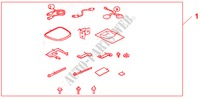 I VES ATTACHMENT KIT for Honda Cars ACCORD 2.2 EXECUTIVE 4 Doors 5 speed manual 2005